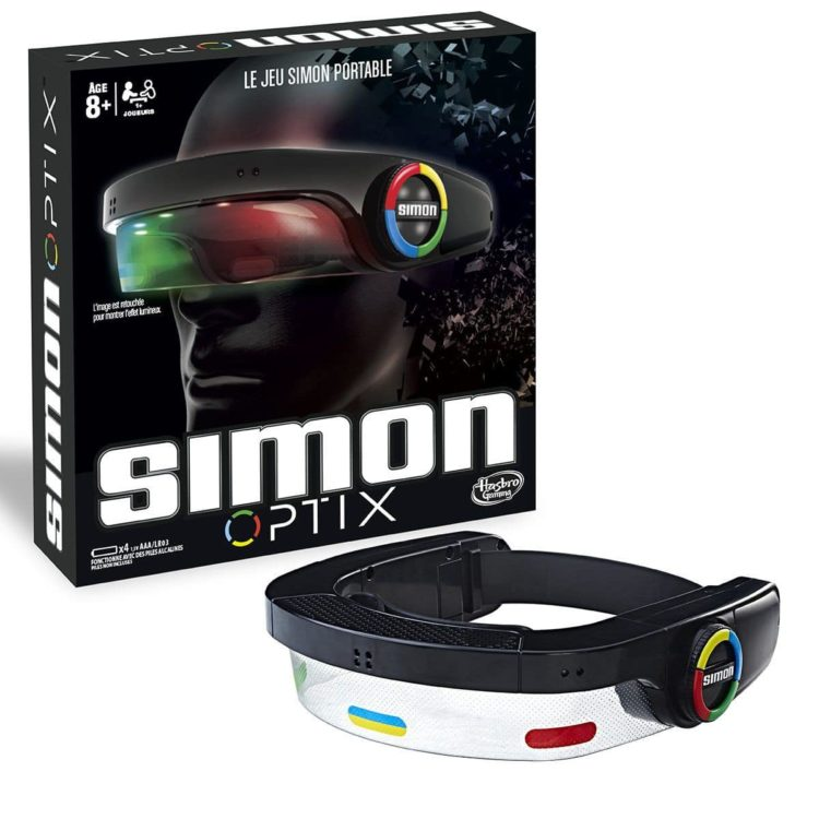 jeu simon casque OPTIX