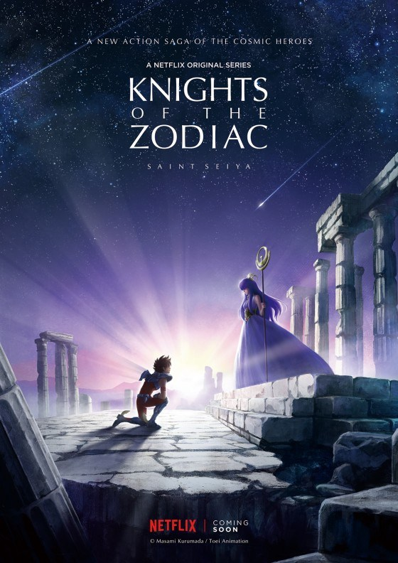 Knights of the Zodiac Saint Seiya, le reboot des Chevaliers du Zodiaques