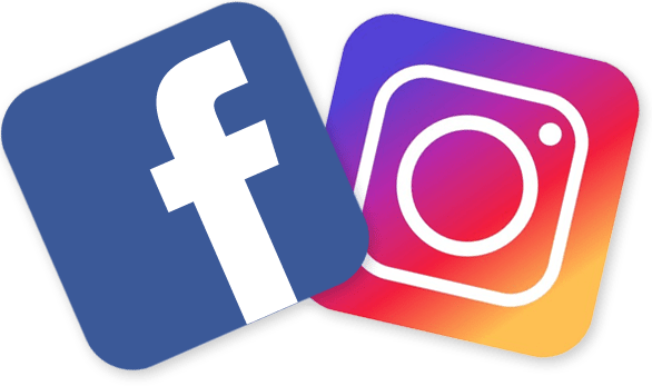 logo facebook instagram