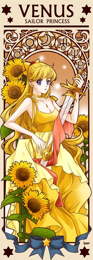 illustration sailoor moon sailor venus #illustratoin #sailormoon #sailorvenus #fanart #anime