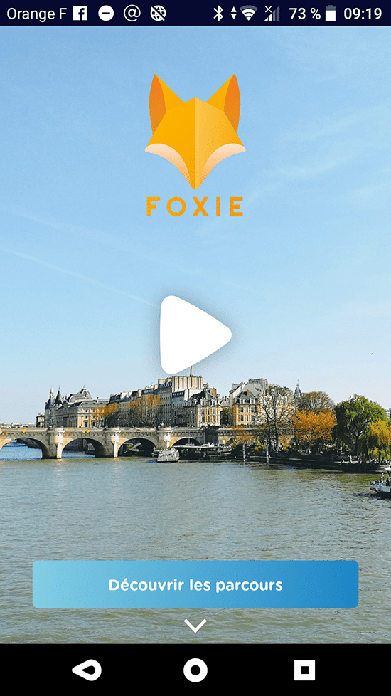 foxie application escape game outdoor