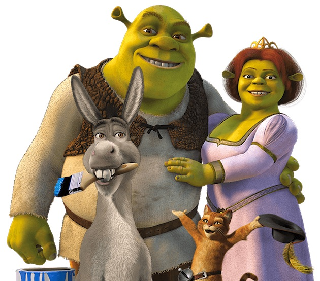 Reboot saga Shrek