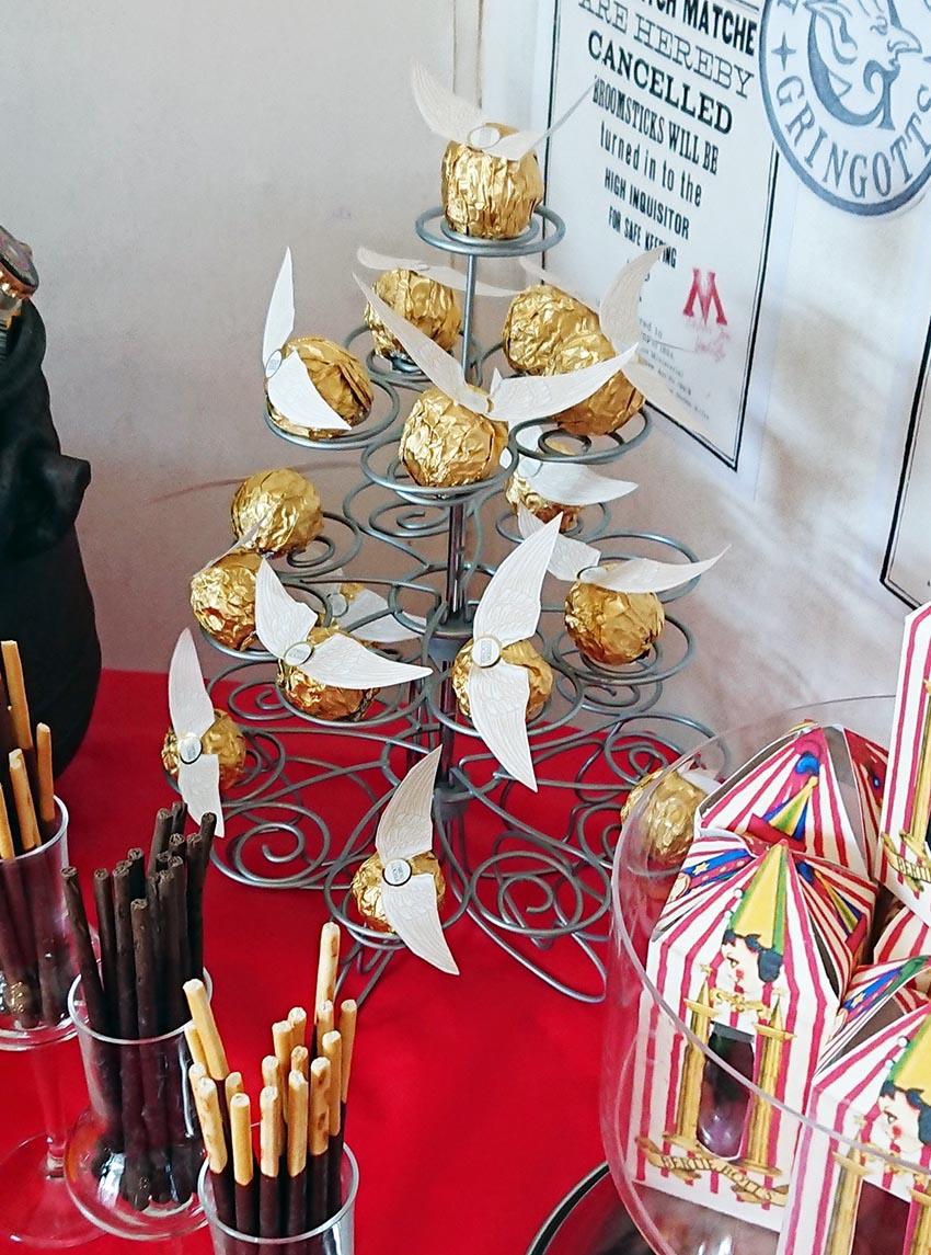 Harry Potter Vif D Or Ferrero Rocher Déco Festif