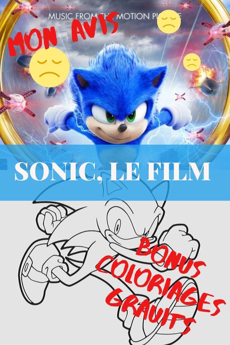 Sonic Le Film Coloriages Gratuits Sonic