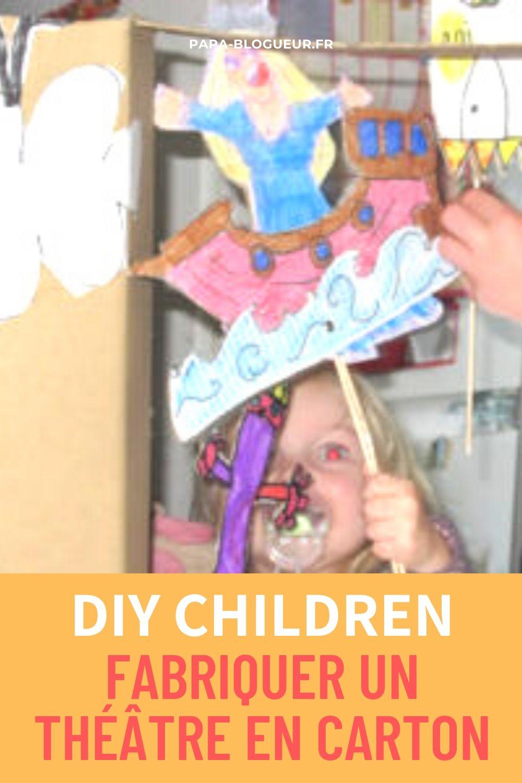 Comment Fabriquer Une Télé En Carton fabriquer un castelet ou un théâtre en carton avec ses enfants