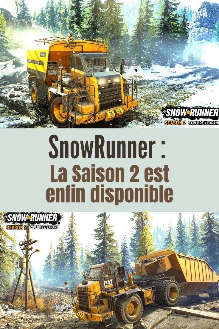 SnowRunner : La Saison 2 est enfin disponible