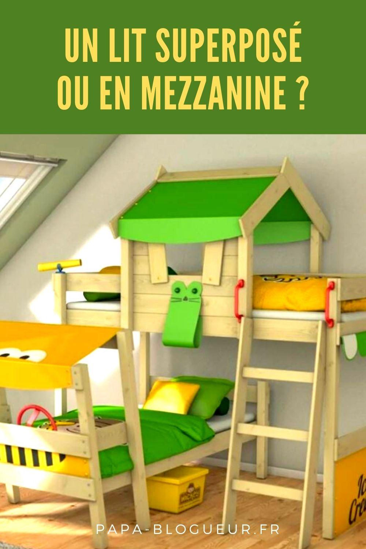 Un lit simple, superposé ou en mezzanine pour un enfant ?