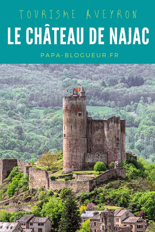 Le château et le village de Najac
